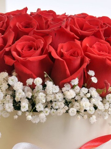 Aşkın Cesareti. Kutuda Çiçek çiçek gönder