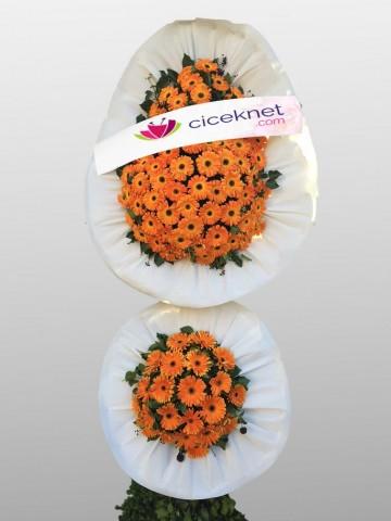 Görkemli Açılış ve Düğün Çiçeği Ayaklı Sepet çiçek gönder