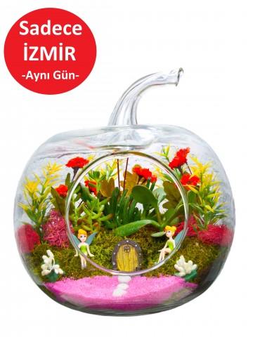Pembelim Yapay Teraryum Terarium çiçek gönder