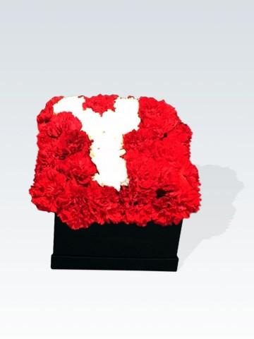 Kalbime Yazdım İsmini Kutuda Çiçeklerden İsim Kutuda Çiçek çiçek gönder