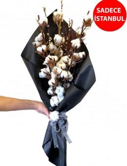 Şık Pamuk Buketi Buketler çiçek gönder