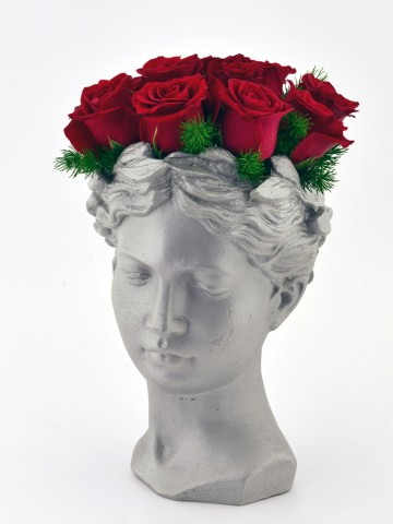 Sultanımsın  Kırmızı Güller Aranjmanlar çiçek gönder