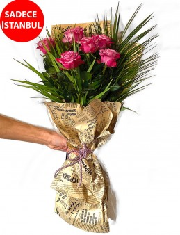 Zarafetin adı Gül Buketi Buketler çiçek gönder