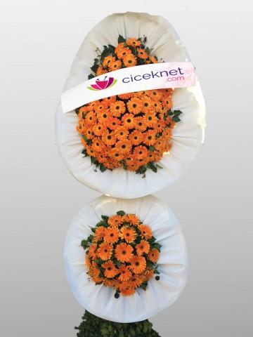 Görkemli Açılış ve Düğün Ayaklı Sepeti Düğün Çelenkleri çiçek gönder