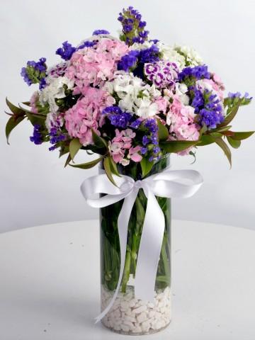 Bahar Kokusu Kır Çiçekleri Aranjmanlar çiçek gönder