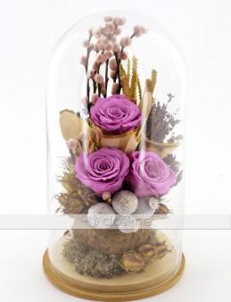 Lila Rengi Solmayan Güller  çiçek gönder