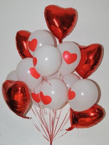 Kalpli Uçan Balon Buketi Balonlar çiçek gönder