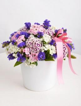 Bahar Esintisi Kır Çiçeği Arajmanı.  çiçek gönder