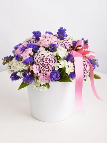 Bahar Esintisi Kır Çiçeği Arajmanı. Aranjmanlar çiçek gönder