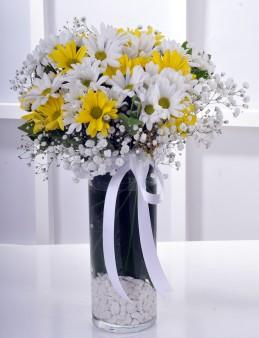Kış Güneşi Kır Çiçekleri..  çiçek gönder