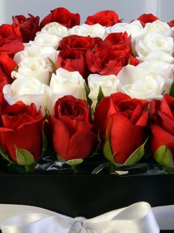 Kalbimin En Güzel Yerindesin Kutuda Çiçek çiçek gönder