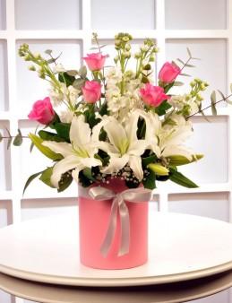 Pembe Kelebeğim  çiçek gönder