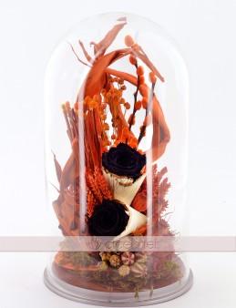 Huzur Kokusu Siyah Solmayan Güller  çiçek gönder