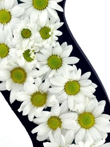 Kişiye Özel - Papatyalardan Baş Harf Harfli Çiçek çiçek gönder