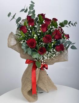 Canım Sevgilime 14 Kırmızı Gül Buketi  çiçek gönder
