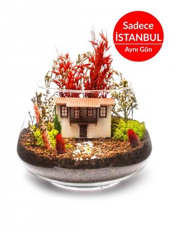Vuslat Yapay  Teraryum Terarium çiçek gönder
