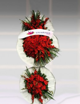 Kırmızılı Düğün Sepeti.  çiçek gönder