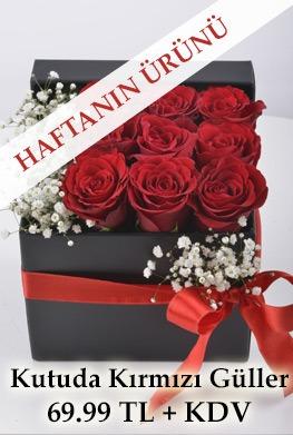 Haftanın Ürünü: Seni Çok Seviyorum Hediyelik Kutuda Kırmızı Güller
