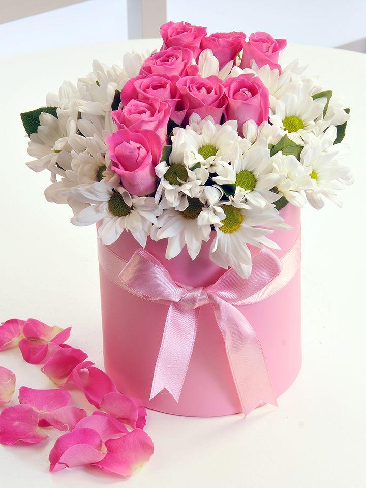 Neyse Falım Çiçek Arajmanı (Kişiye Özel) Kutuda Çiçek çiçek gönder