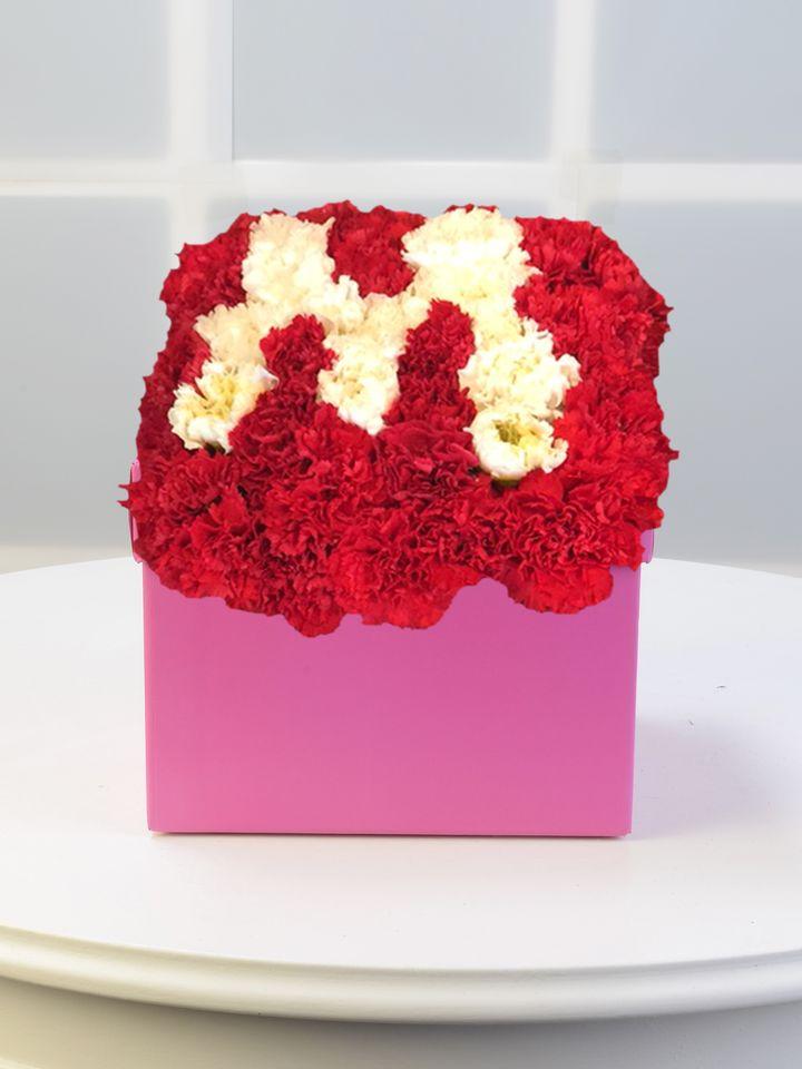 Baş Tacımsın Kişiye Özel Çiçekten Harf   çiçek gönder