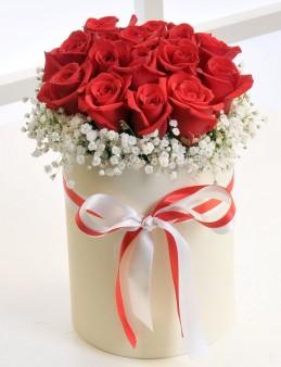 Aşkın Cesareti 11 Adet Kırmızı Gül  çiçek gönder