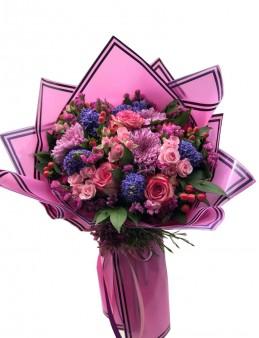 Özel Tasarım Karışık Çiçek Buketi  çiçek gönder