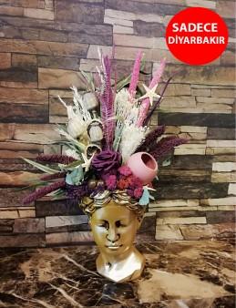 Antik Helen Vazoda Eşsiz Aranjman  çiçek gönder