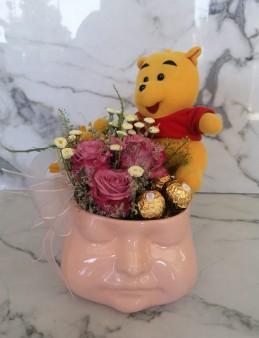 Exclusive Collection Hoşgeldin Bebek Aranjmanı  çiçek gönder