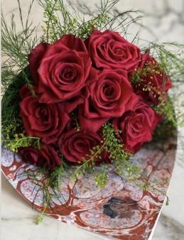 Ebru Sanatlı Ekvator Gülleri (Special Collection)  çiçek gönder