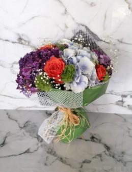 Romantik Ortanca  çiçek gönder