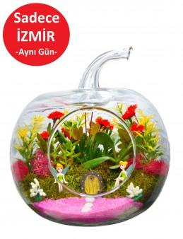 Pembelim Yapay Teraryum  çiçek gönder