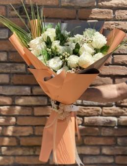 21 Ekvator Gül Buketi  çiçek gönder