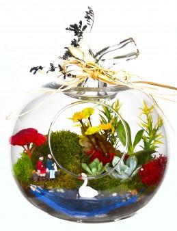 Akdeniz'de  Aşk Bir Başka Yapay  Teraryum  çiçek gönder