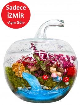 Çocukluk Hatırası Yapay Teraryum  çiçek gönder