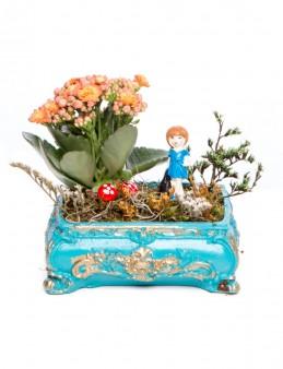 Ahiri Serisi Kalanchoe Tasarım  çiçek gönder