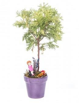 Opal Serisi Mazı Bonsai Tasarım  çiçek gönder