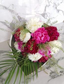 Ebru Sanatlı Karışık Şakayık Buketi  çiçek gönder