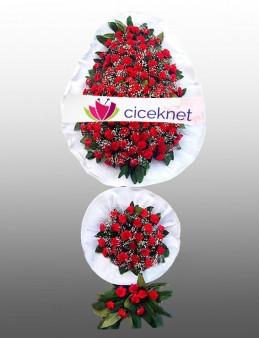 Düğün ve Açılışların En Güzel Ayaklı Sepeti Düğün Çelenkleri çiçek gönder