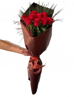 Aşkın Rengi Kırmızı Güller Buketi  çiçek gönder