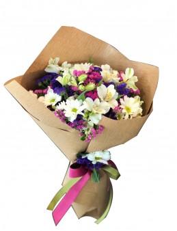 Tatlı Bahar Çiçek Buketi  çiçek gönder
