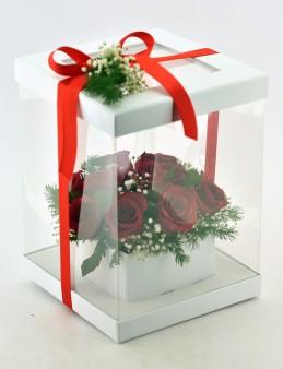 Aşkın Gizemi 11 Kırmızı Gül  çiçek gönder