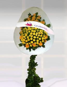 Bayi İçin Ayaklı Sepet 2  çiçek gönder