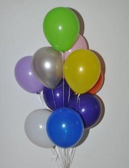 Renkli Desensiz Balon Buketi   çiçek gönder