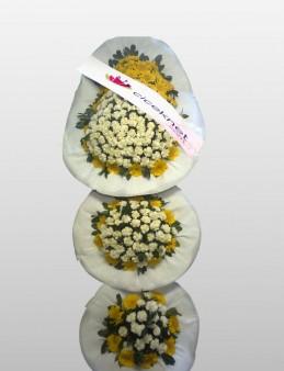 3 Göbekli Düğün ve Açılış Sepeti  çiçek gönder