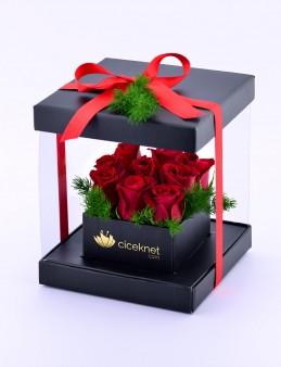 Sevginin Gücü Kırmızı Güller  çiçek gönder