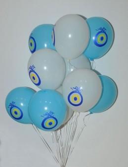 Nazar Değmesin, Nazar Boncuklu Uçan Balonlar  çiçek gönder