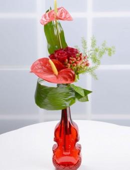 Bir Tebessüm Kırmızı Güller  çiçek gönder