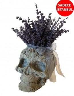 Mis Kokulu Lavantaların Sanata Dönüşmesi Saksı Çiçekleri çiçek gönder