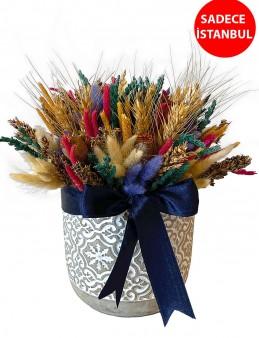 Burçak Tarlası Aranjmanı  çiçek gönder