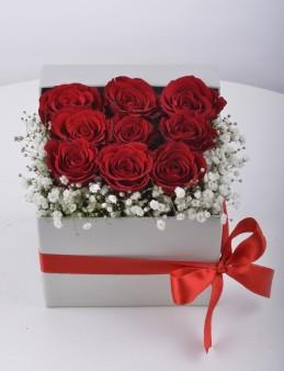 Küçük Bir Tebessüm Kırmızı Güller  çiçek gönder